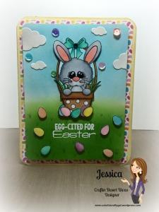 easter baket bunny