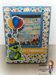 turtle shaker card