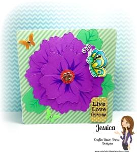 flower tag dies
